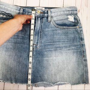 Frame Denim Skirts - FRAME Denim Le Mini Ryde Jean Skirt 28